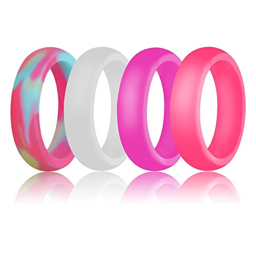 Amazon Com Silicone Wedding Ring For Men By Doerdo Durable Rubber