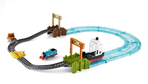 (Fisher-Price Thomas & Friends TrackMaster, Boat & Sea Set - FJK49)
