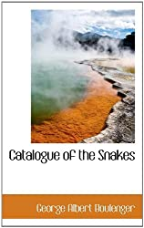 Catalogue of the Snakes