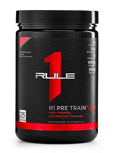 R1 Pre Train 2.0, Rule 1 Proteins (25 servings, Watermelon Splash)