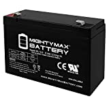 Mighty Max Battery 6V 12AH F2 SLA Replacement Battery for Back-UPS 450, 520 Brand Product