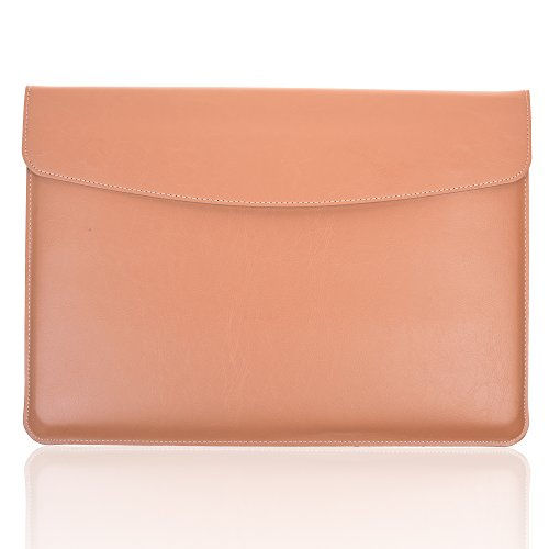 Envelope Carrying Leather Magnetic Closure