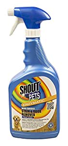 Shout for Pets Stains Enzymatic Stain & Odor Remover for Hard Surfaces