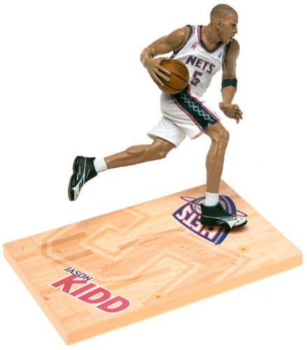 Jersey Nets Jason Kidd - McFarlane Sportspicks NBA Series 1 Jason Kidd Action Figure New Jersey Nets