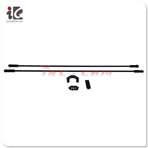 Align Linkage - Slicktron TM TW032 Carbon Fiber Tail Boom Brace + Linkage for Align T-rex TW500 RC Helicopter