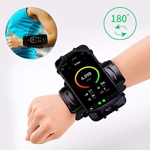 Phone Wristband,Running Phone Holder for iPhone X 7 8 Plus 7 6S Plus 6S Samsung Galaxy S8 Plus S8 S7 Edge,180