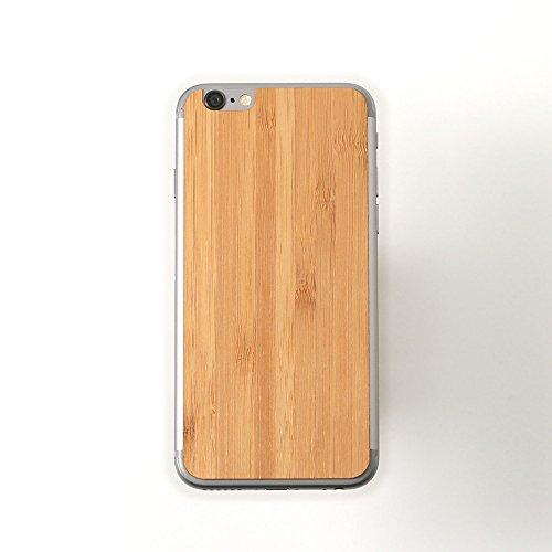Lazerwood Plain Bamboo Skin für Apple iPhone 6
