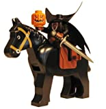 The Headless Horseman – LEGO Halloween Minifigure with Pumpkin Head (Jack-O-Lantern), Horse and Sword (The Legend of Sleepy Hollow), Baby & Kids Zone