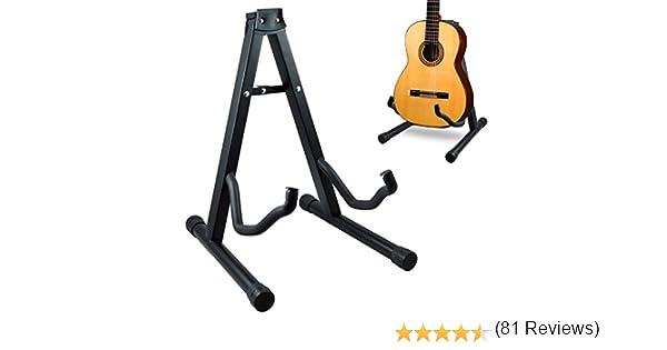 T-LoVendo 5.789 Soporte universal plegable de suelo para guitarra ...