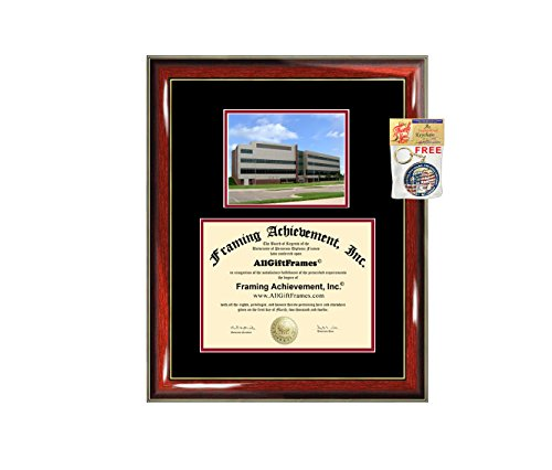 Davenport University Diploma Frame Graduation Degree Frame Matted Certificate Plaque University Framing Plaque Graduate Gift Certification Document