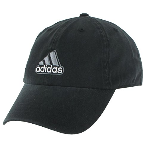 (adidas Men's Ultimate Relaxed Adjustable Cap, Black/Grey, One Size)