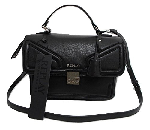 REPLAY BORSA A MANO NERA FW3727.000