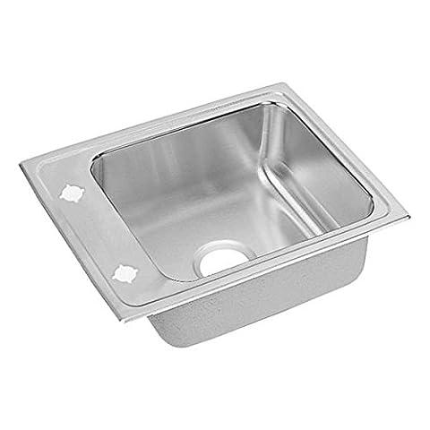 Elkao|#Elkay DRKAD2217502 18 Gauge Stainless Steel, 22 Inch x 17 Inch x 5 Inch single Bowl Top Mount - Stainless Steel Elkay Classroom Sinks