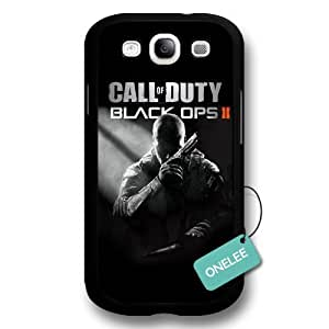 Onelee(TM) - Call of Duty Ghosts Black Hard Plastic Samsung Galaxy S3 Case & Cover - Black 10