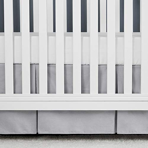 TILLYOU Gray Pleated Crib