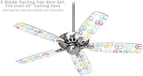 kearas paz Signos – Ventilador de techo kit de piel se adapta a la ...