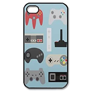 Personalized Nintendo Controller Iphone 4,4S Case, Nintendo Controller Customized Case for iPhone 4, iPhone 4s at Lzzcase