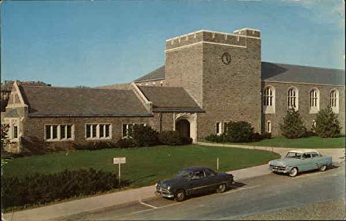 Teagle Hall, Men's Physical Education Bldg, Cornell University Original Vintage Postcard
