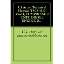 US Army, Technical Manual, TM 5-4310-386-14, COMPRESSOR UNIT, DIESEL ENGINE DRIVEN 20 CFM, 3200 P MODEL K-20-D, (NSN 4310-01-227-1408), military manauals, special forces