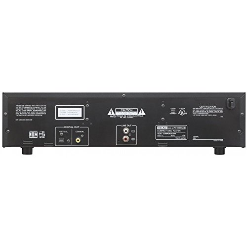 Teac PD-D2610MKII 5-Disc Carousel CD Player Changer Remote CD,CD-R/RW, MP3 Disks (Renewed) by Teac (Image #2)