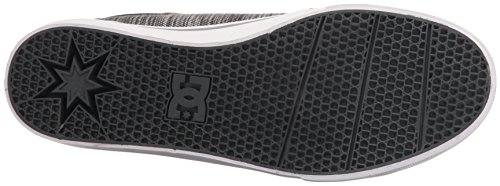 DC Men's Trase Tx Se Skateboarding Shoe, Black/Grey/Grey, 11 M US