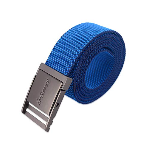 Elastic Nylon Web Belts for Men Adjustable Mountain Belts for Women with Metal Buckle Braided for Sports Training Hiking