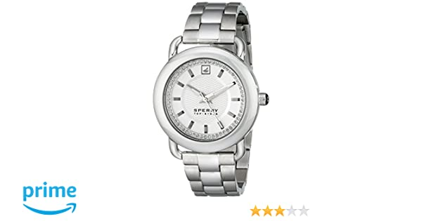 Amazon.com: Sperry Top-Sider Womens 10014926 Hayden Stainless Steel Watch: Sperry: Watches