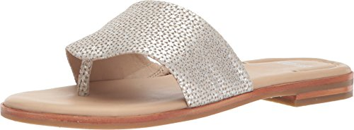 - Johnston & Murphy Women's Raney Silver Laser Cut Metallic Suede 8.5 M US