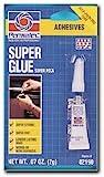 Permatex 82190 Super Glue Adhesive, 2gm Tube (Pack of 12)