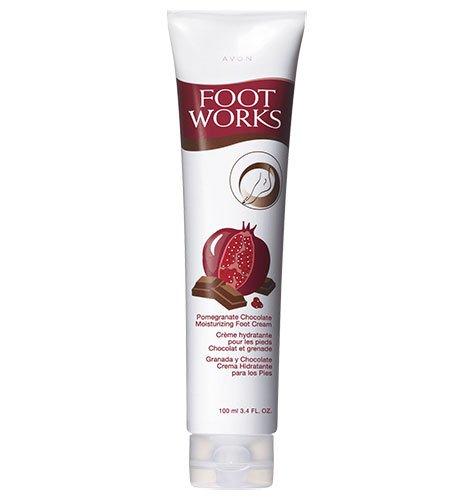 Avon Rich Moisture Cream (Foot Works Pomegranate Chocolate Moisturizing Foot)