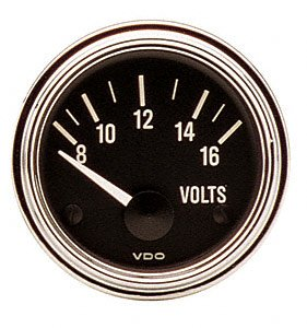 VDO 332-341D Voltmeter 12volt 2 1/16d