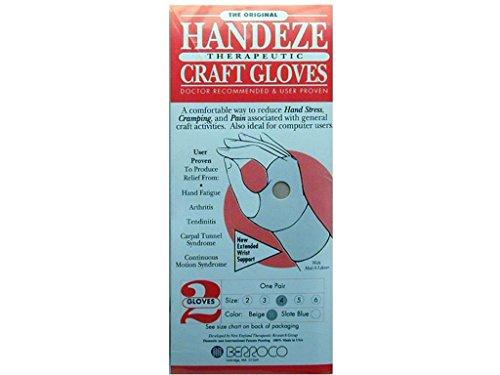 Handeze Berroco Glove Beige Pair Size 4 GloveBeigePairSize4 ()