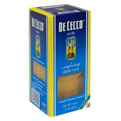 De Cecco Pasta Lasagne 16 Oz