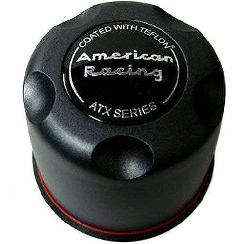 American Racing ATX Teflon Coated Truck Series Center Cap 8 Lug - Teflon Wheels Atx