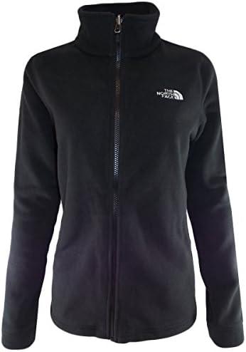 The North Face 여성용 블랙 300 Tundra 풀 지퍼 플리스 재킷 / The North Face 여성용 블랙 300 Tundra 풀 지퍼 플리스 재킷