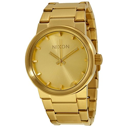 nixon-the-cannon-a160502-unisex-gold-plated-watch