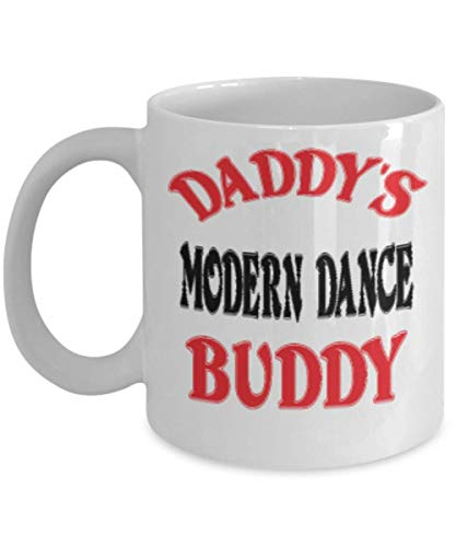 11oz Funny Daddy's Modern Dance Buddy Coffee Mug - Unique Cool Cute Father's Day Gifts Trust Me Great Novelty Gift Dad,al4738