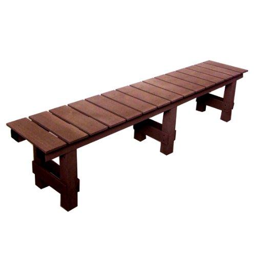 ぬれ縁台 人工木 1800 ブラウン B005G2RT4W