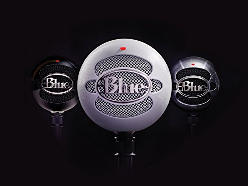 Large Product Image of Blue Snowball USB Microphone (Gloss Black)