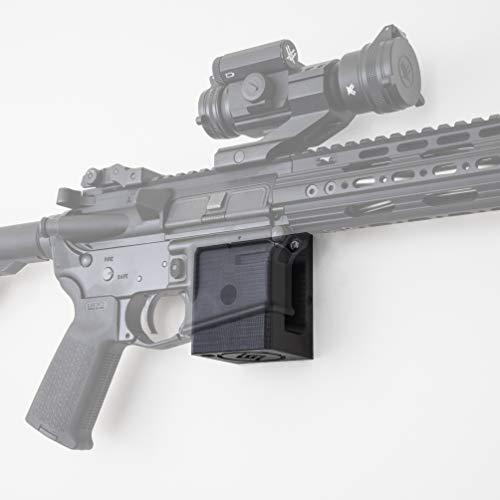 Standard Rifle Wall Mount | Display Storage Organization System | Unique Low Profile Design | Gun Safe Wall Garage | Gun Room Mounting Solution | Spartan Mounts