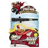 Ultimate Spiderman Web-warriors - Iron Spider - Figure