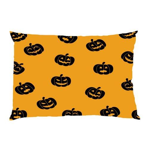 FavorPlus Pillowcase Pumpkin Halloween GIF Present Decor Queen Size Pillow Cases Cover Design Bedroom Sofa Pillow Sham 20X30 Inches]()