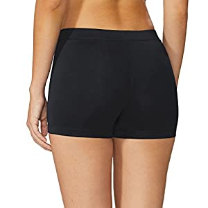 Baleaf Women's 3'' Active Fitness Volleyball Shorts Black Size S