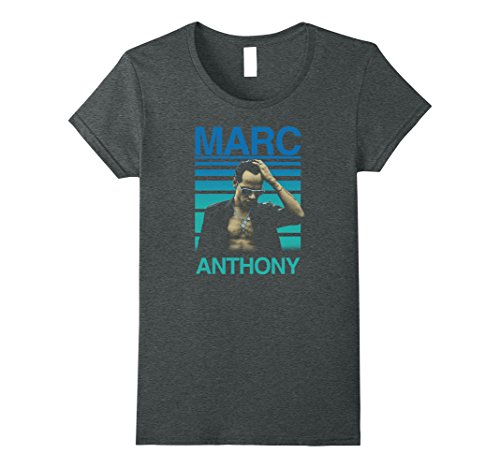 Womens Marc Anthony - Brighter Skies T-Shirt Medium Dark Heather Anthony Graphic T-shirt