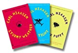 img - for Carl Hiaasen's South Florida Three-Book Set [Sick Puppy, Skin Tight, Stormy Weather] book / textbook / text book
