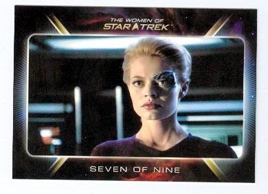 (Jeri Ryan trading card The Women of Star Trek #67 Rittenhouse 2010 Seven of Nine)