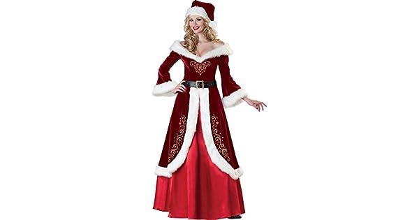 Amazon.com: Simplecc - Disfraz de Navidad para mujer ...