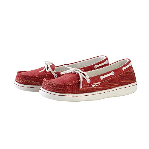 Moka Dude Red Women's Tex Shoes Rosso Woven SzqvzEpx