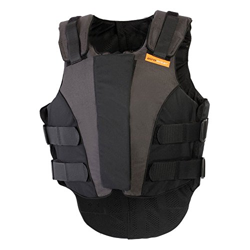 Airowear Outlyne Ladie's Body Protector Vest Black/Graphite, L5 Slim, Regular