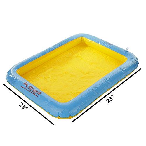 Sensory Sand Inflatable Sand Tray for Kinetic Sensory ()